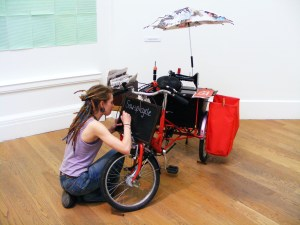 Sew-up-cycle, R.S.A;N.C exhibtion 2012