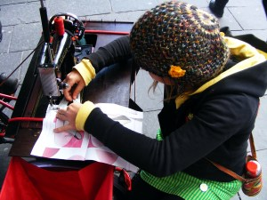 One cycle, One sew, G.I. festival, A series of short lived happenings, 2012 (14)