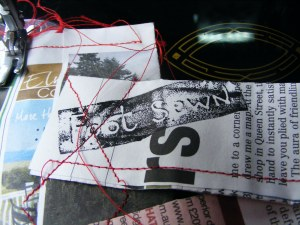 One cycle, One sew, G.I. festival, A series of short lived happenings, 2012 (2)